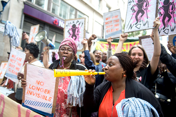 womens strike outsourcing is a feminist issue