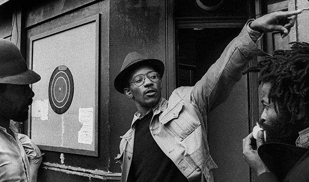 Linton Kwesi Johnson. Photo: Adrian Boot