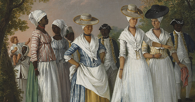 Free Women of Color by Agostino Brunias